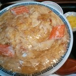 憩 - 蟹玉丼¥680