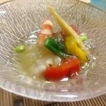 かず味家 - 焼き野菜のゼリー寄せ