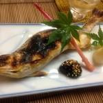 かず味家 - 鮎の塩焼き