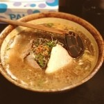 麺処 壱萬屋 - 焦がし黒味噌ラーメン 850円