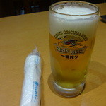東海菜館 - 生ビール:390円
