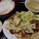 東海菜館 - ホイコーロー(回鍋肉):750円