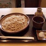 甘雨 - ざる蕎麦