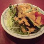 19540109 - ランチのサラダ