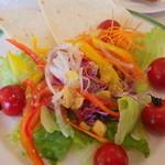 19541464 - 彩り豊かな野菜を満喫できます。