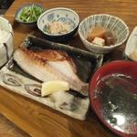 魚屋はちまき - 焼魚定食~つぼ鯛数漬け