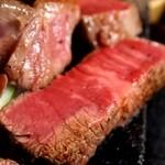 レストラン 大公 - 石焼すてーき定食(ひれ)