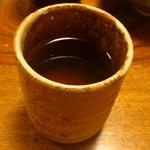花ぎり - お茶