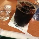 珈琲館 - アイスコーヒー。