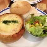 珈琲館 - グラタンパン