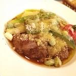 イル・ラメリーノ - イベリコ豚の頬肉赤ワイン煮。おいしかったぁ。。良い週末あうと。