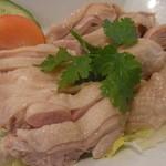 新東記 - 海南鶏飯(肉大盛り)