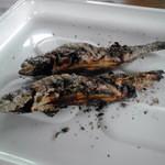 滋賀県南郷水産センター - 料理写真:炭火焼のマス