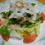 フォーメス - 新玉ねぎとクレソンのサラダ