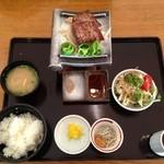 19551868 - 淡路島牛瓦焼きステーキ定食