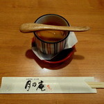 月の庵 - ミニ豆乳茶碗蒸し 320円