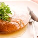 アネア カフェ - 大人気のパンケーキ♪外はサクサク!中はふわふわ!