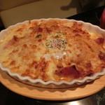 BARいしだりゅういち - 焼きチーズスパゲティ