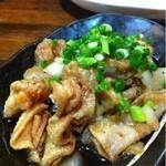 串猿 - 鶏皮ポン酢