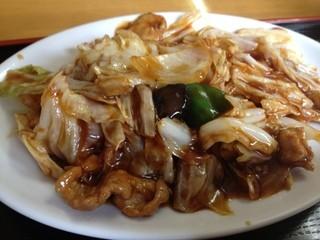 中国家庭料理 誠苑 -  Aランチ 豚肉とキャベツの甘辛味噌炒め定食 700円