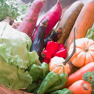 野菜充実のお料理やハーブティーで身体にご褒美♪