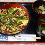 うなぎの又一 - ちらし丼1,650円(税抜)