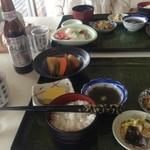 お食事処 濱の四季 - 若狭塗のお箸「は」素晴らしい!