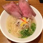 ましこ亭 - 「和牛蕎麦 塩」780円
