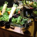 お日さまのえがお - 野菜コーナー