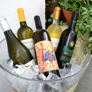 500種!リーズナブルなものから幻のヴィンテージワインまで!