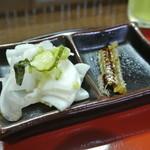 福也 - 漬物、ウナボーン付き