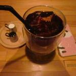 珈琲 紙 - アイスコーヒー