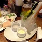 ヴァンガード - 野菜ステック:450円('13.06月にて)