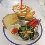 サンパチカフェ - かぶきぃ~のと自家製トースト