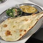 サンパチカフェ - 日替わりインドカレー  チキンカレー