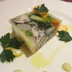 19564540 - 北海道産ツブ貝と季節野菜のテリーヌ