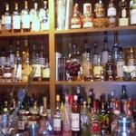authentic bar wein - カウンター正面です