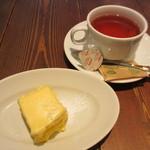 19565041 - アプリコットのムース、紅茶