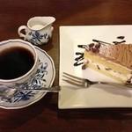 19565171 - コーヒー&モンブラン