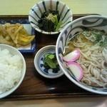 かま福 - うどん定食630円