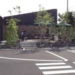 スターバックスコーヒー - 2013/06 郊外店らしく、ドライブスルーも完備