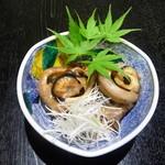 大漁居酒屋 まぐろがんち - まぐろの目玉煮付け(580円)