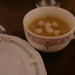 バンジャーラ - 特製厶リガタニィスープ、美味しい!