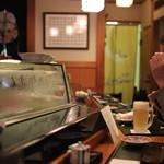 名登利寿司 - 10年前と、ほとんど変わりません