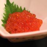 名登利寿司 - いくら の醤油漬け