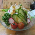 白帆 - 野菜サラダ