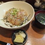 四季料理 海山 - 鯛の漬け丼¥780