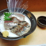 浜幸 - 飛魚のお造り