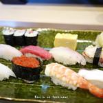 かしわ鮨 - 料理写真:にぎりすし(ランチ)