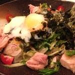 お酒と料理の心 - 鳥の巣サラダ
